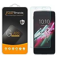 [2-Pack] Supershieldz para el protector de pantalla de cristal templado Alcatel Idol 4, antirrayas, anti-huella digital, garantía de por vida de reemplazo
