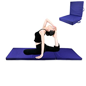 COMOTS Alfombrilla de Yoga Plegable de 5 cm x 2 m x 5 cm ...