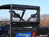 SuperATV Polaris Ranger XP 900 / 1000 Full Size Rear Windshield Light Tint Scratch Resistant RWS-P-RAN900-72
