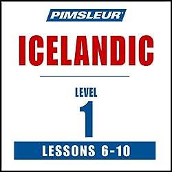 Pimsleur Icelandic Level 1 Lessons 6-10