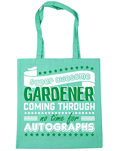 Bag 42cm litres Gym Autographs Super Tote 10 Mint Through Time For Shopping HippoWarehouse Gardener Beach Coming x38cm No Awesome O6xBfABw