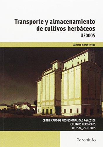 Descargar Libro Transporte Y Almacenamiento De Cultivos Herbáceos Alberto Moreno Vega