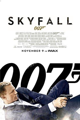 Posters USA - 007 Skyfall James Bond Movie Poster GLOSSY FIN