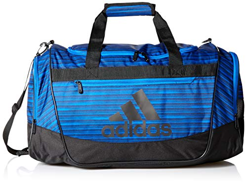 a645ab7325 adidas Defender III Duffel Bag, Collegiate Navy Andreas/Black/Blue, One Size