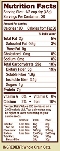 Bobs Red Mill Gluten Free Quick Cooking Oats, 2.13 Pound by Bob's Red Mill (Image #4)