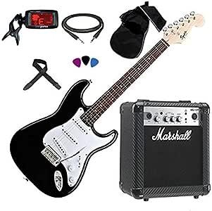 FENDER Squier Stratocaster guitarra eléctrica amplificador ...