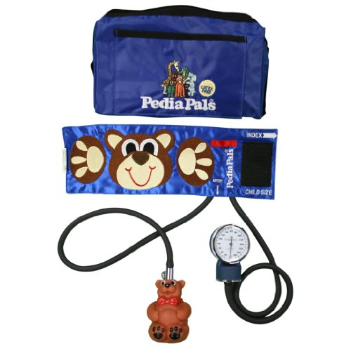Pedia Pals (Child & Infant) Size Benjamin Bear Blood Pressure Kit with Carrying Case (Child)