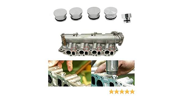 Maso 5X Kit de colector de admisi/ón de motores di/ésel 1.9 CDTI 150bhp Z19DTH 55206459 tapas con solapa