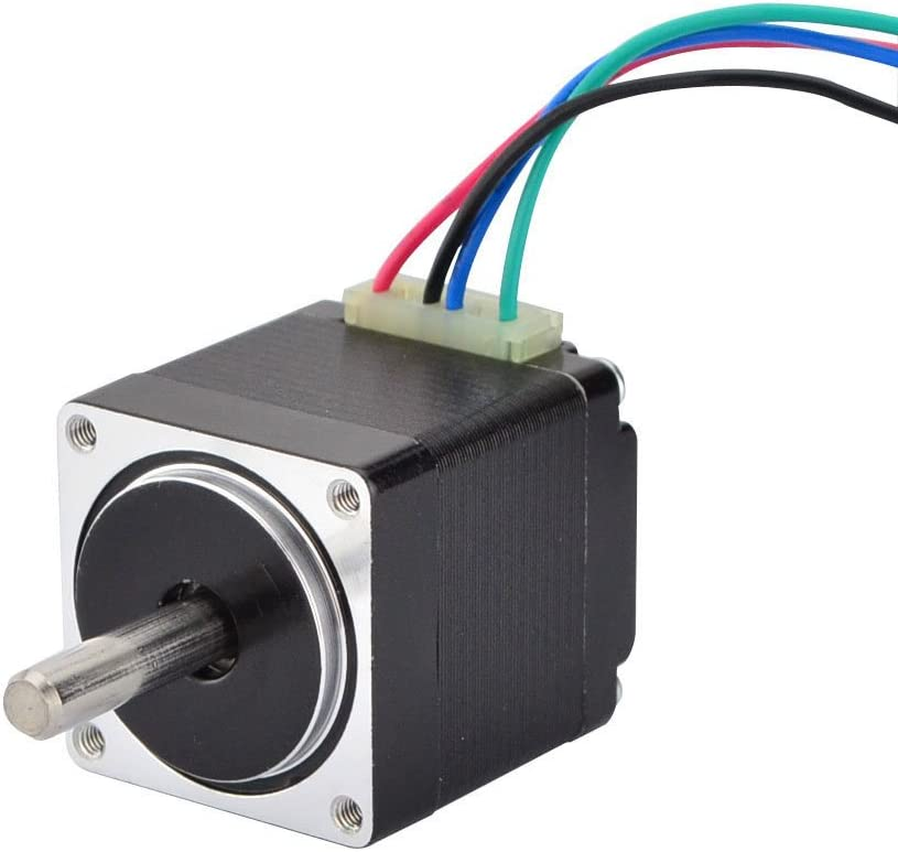 STEPPERONLINE Mini Stepper Motor Nema11 Bipolar 0.67A 8.5oz-in/6Ncm DIY Robot CNC (No Single keyed shaft) - -