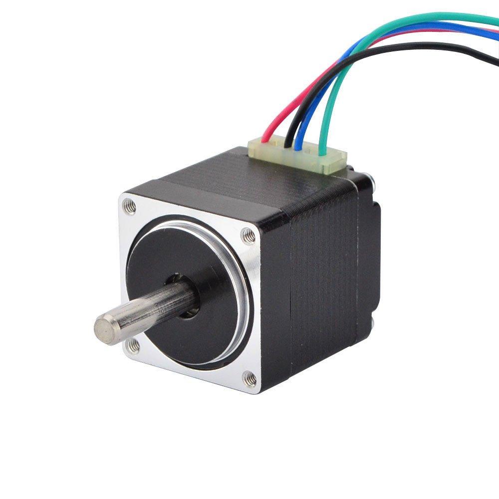 Mini Stepper Motor Nema11 Bipolar 3.8V 0.67A 8.5oz-in/6Ncm DIY Robot CNC (No Single keyed shaft)