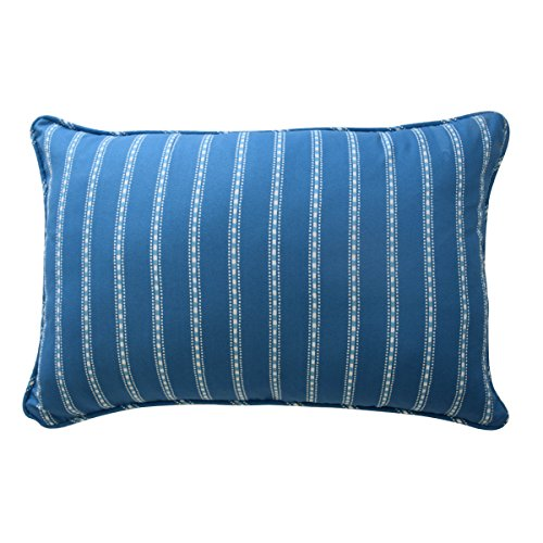 - Waverly Kids 16445012X018BLU In The Clouds 12-inch by 18-Inch Striped Decorative Accessory Pillow, Blue