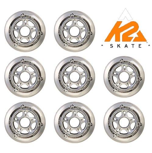 K2 ALLROUND SKATE PERFORMANCE FITNESS ROLLEN 8 STÜCK 72mm/80A (2x 3113002.1.1)
