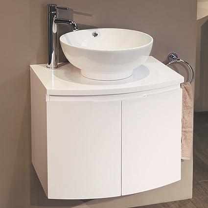 Vanity Unit Countertop Basin Voss 600 Wall Mounted Amazon Co Uk