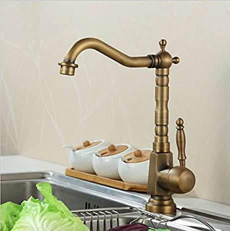 Gold-plated kitchen faucets upscale kitchen above counter basin taps ...