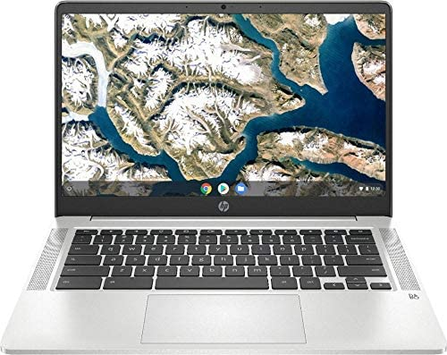 "2020 HP High Performance Chromebook 14"" FHD 1929x1080 - Intel Celeron N4000 - 4GB Memory - 32GB eMMC - Natural Silver"