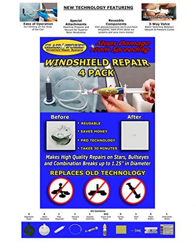 Glassworks Windshield Repair 4-Pack