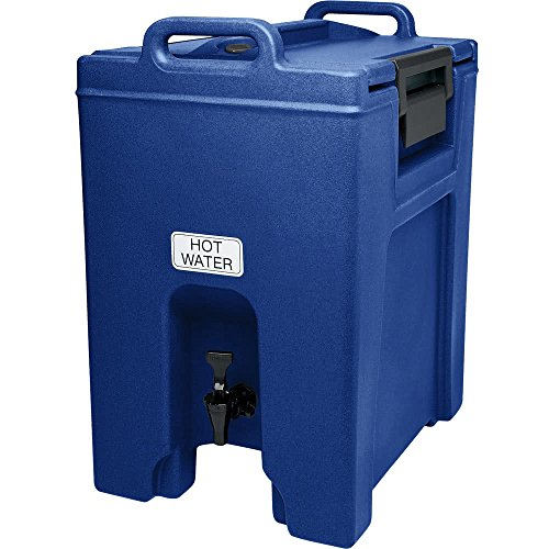 TableTop King UC1000186 Navy Blue Ultra Camtainer 10.5 Gallon Insulated Beverage ()