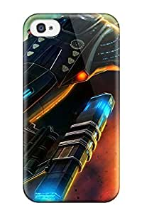 Hot Tpu Cover Case For Iphone/ 4/4s YY-ONE Skin - Star Trek Online Game