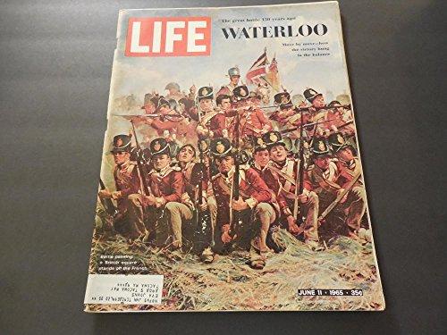 Life Jun 11 1965 Waterloo; Man From UNCLE; Moll Flanders; Cat - Waterloo Glasses