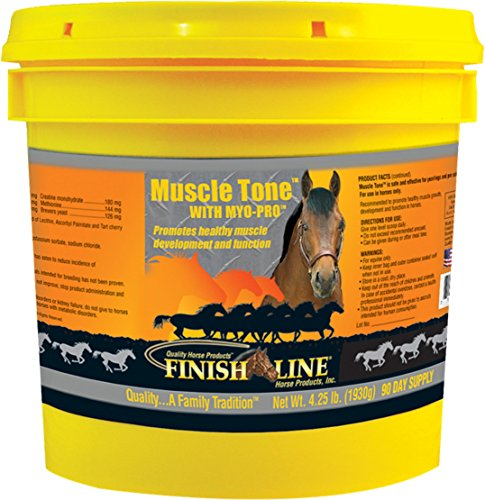 MUSCLE TONE WITH MYO-PRO EQUINE SUPPLEMENT - 4.25 POUND by DavesPestDefense