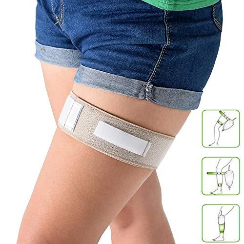 Latex Catheter Holder - HAMUHA Catheter Legband Holder,with Anti Slip Catheter Leg Strap Catheter Fixation Tape Leg Holder Urinary Incontinence Supplies Catheter Leg Band Strap Wrap Tube Bag Holder