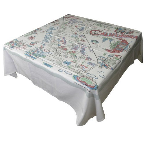 (Moda Home California State Reproduction Tablecloth by Moda Home)