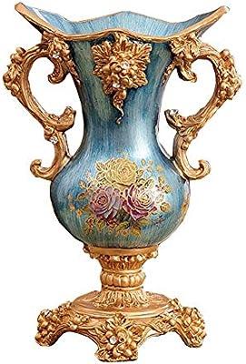 ZLR-floreroLL Vintage Jarrónes flor grande de Floreros decorativo ...