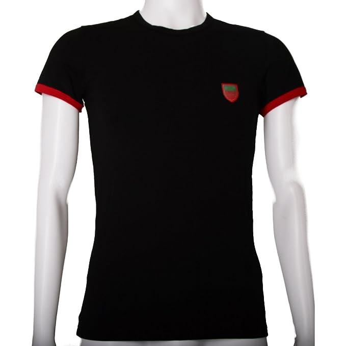 Emporio Armani - Camiseta - para hombre negro L: Amazon.es: Ropa y accesorios
