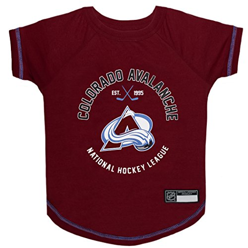 5d936fcdd068 NHL Colorado Avalanche Tee Shirt for Dogs & Cats, Medium. - are You a