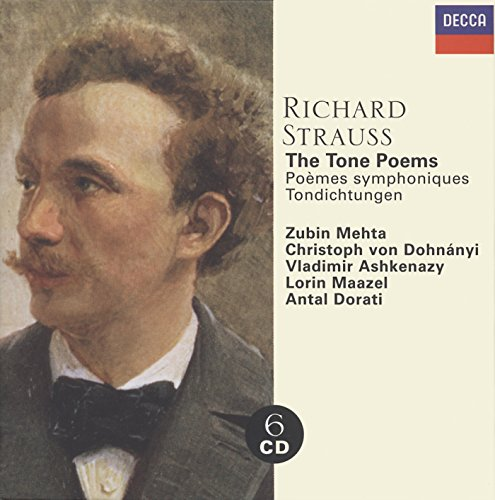 Richard Strauss: Complete Tone Poems (6 CD Set), including Fantasie from