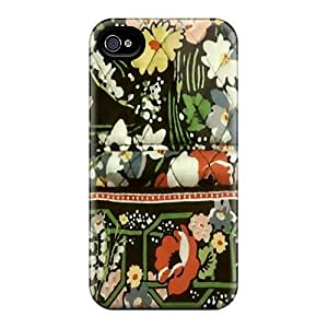 Tpu Shockproof/dirt-proof Vera B Bag Cover Case For Iphone(4/4s) by ruishername