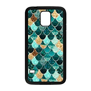 Danny Store Protective TPU Rubber Case Cover for Samsung Galaxy S5 - Mermaid Skin