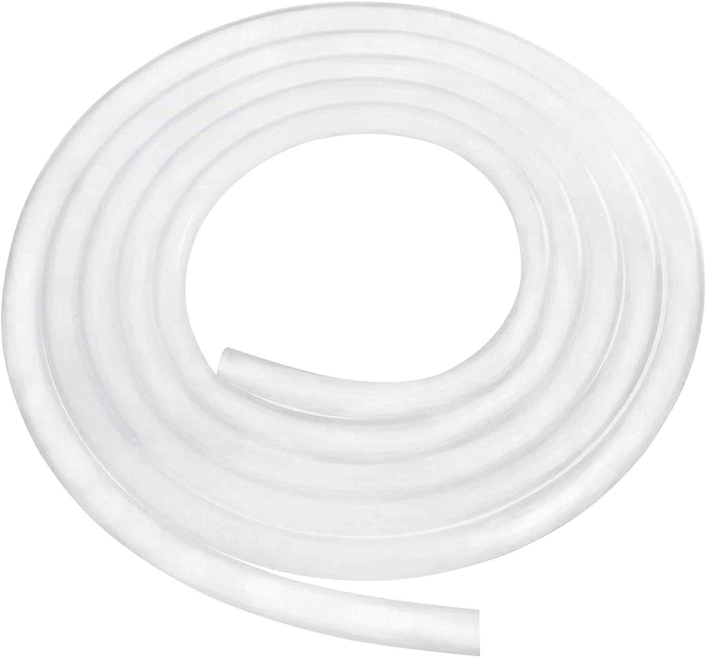 "Quickun Pure Silicone Tubing, 1/4"" ID x 3/8"" OD High Temp Food Grade Tube Pure Silicone Hose Tube for Home Brewing, Beer Line, Kegerator, Wine Making, Aquaponics, Air Hose by Proper Pour (9.84 Ft)"