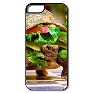 Design Fashion Plastic Case Cheese Turtle Burger By K23 For IPhone 5/5s