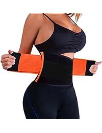 Women's Waist Trainer Belt - Waist Cincher Trimmer -...