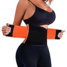 KOOCHY Women's Waist Trainer Belt - Waist Cincher Trimmer - Slimming Body Shaper Belt - Sport Girdle Belt for Weight Loss