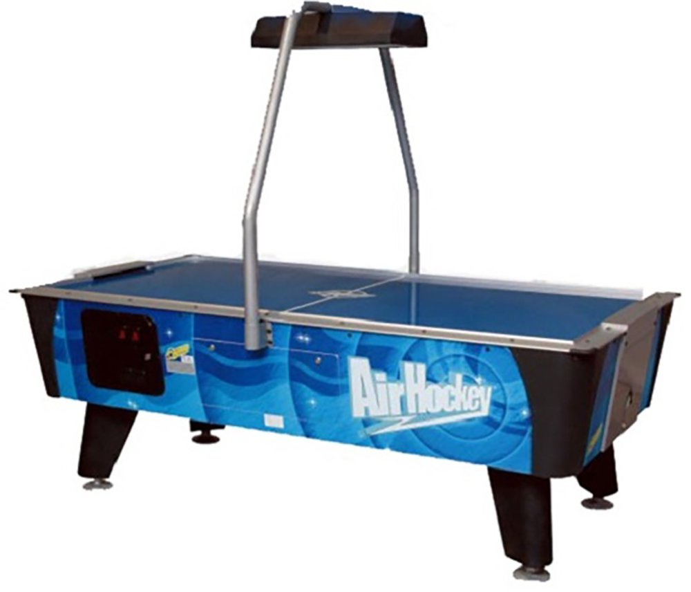 Valley-Dynamo Blue Streak Coin Operated Air Hockey Table