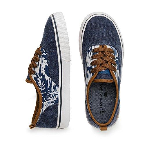 TOM TOM jeansblau Sneaker Sneaker jeansblau braun TAILOR TAILOR TOM braun HHfXC