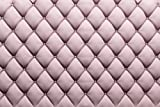 Pink Couch Skin Backdrop very chic headboard bed Upholstered Tufted bedroom Printed Fabric Photography Background (G0104, 12' wide by 8' tall)