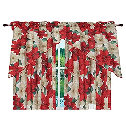 christmas kitchen curtains amazoncom - Christmas Kitchen Curtains