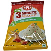 MTR 3 Minute Breakfast - Vegetable Upma, 60g Pouch