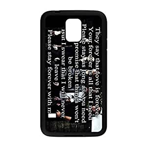 Laser Technology Sleeping With Sirens Custom Durable and Slim Plastic Case Cover for Samsung Galaxy S5 -Black052810 by icecream design