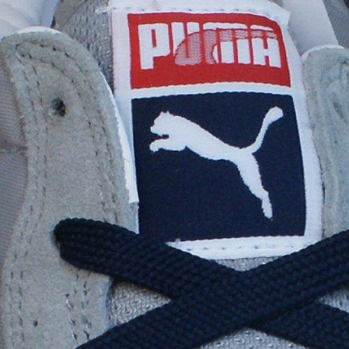 Puma TX-3 - Caña baja de cuero unisex Grau / Rot / Weiß