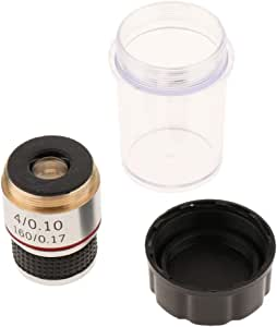 160//0.17 100X Achromatic Objective Lens 20.2mm RMS for Biological Microscope