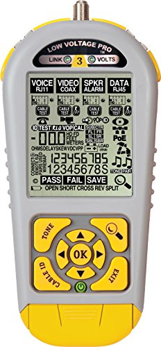 Triplett / Byte Brothers LVPRO3 Multifunctional Cable Tester for RJ45 RJ11 and Coax Print Reports