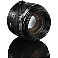 YONGNUO YN85mm F1.8 AF/MF Standard Medium Prime Fixed Telephoto Lens for Canon EF Mount Rebel DSLR Cameras