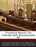 Procedural Manual, , 1288801718