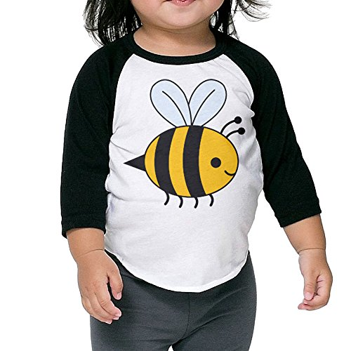 Bee Gees Halloween Costumes (Lisenict Cartoon Bee Children Essential Tshirt Size2 Toddler)