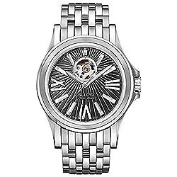 Men's Bulova AccuSwiss Kirkwood Black Dial Watch