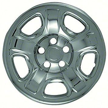 Premium OEM Estilo Cromado rueda Skins para 2002 – 2007 Jeep Liberty (Pack de 4